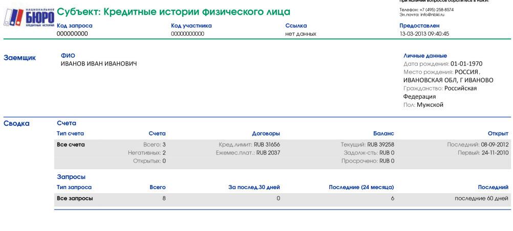 Центральный каталог кредитных историй, в каких бюро хранится кредитная история получить быстро кредит в банке